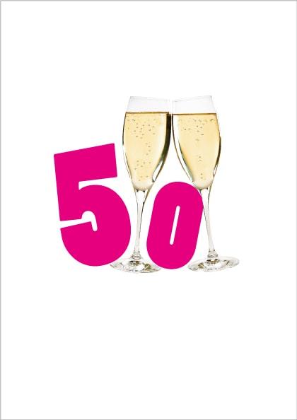 indbydelse 50 års fødselsdag tekst